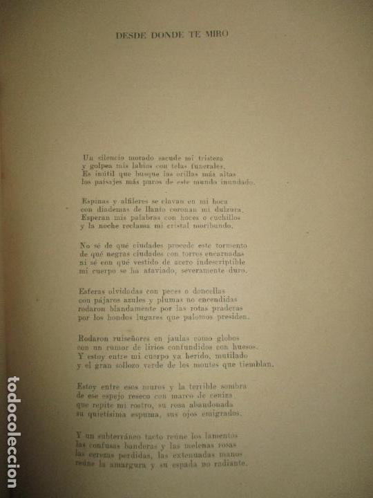 Libros de segunda mano: EN LA LLAMA. CIRLOT, Juan Eduardo. 1945. PRIMERA EDICIÓN. DEDICATORIA AUTÓGRAFA. - Foto 4 - 118146403