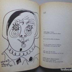 Libros de segunda mano: RAFAEL ALBERTI // LOS 8 NOMBRES DE PICASSO Y NO DIGO MAS QUE LO QUE NO DIGO // 1978. Lote 118584047
