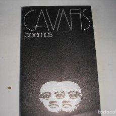 Libros de segunda mano: POEMAS- CAVAFIS.-VISOR,1973. Lote 119010503