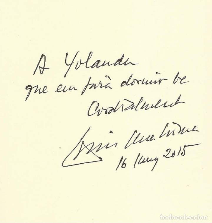 Libros de segunda mano: COM EL MAR, Lluís Serrahima -Exemplar dedicat per l'autor- - Foto 2 - 120371559