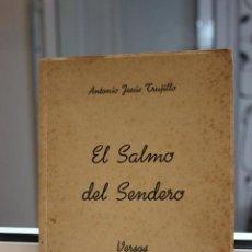 Libros de segunda mano: EL SALMO DEL SENDERO. VERSOS, ANTONIO JESUS TRUJILLO. CANARIAS 1945. Lote 120448679