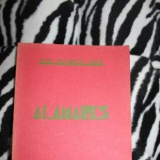 Libros de segunda mano: POESIA. ALAMARES, LUIS ALVAREZ CRUZ. CANARIAS 1932. Lote 121213111