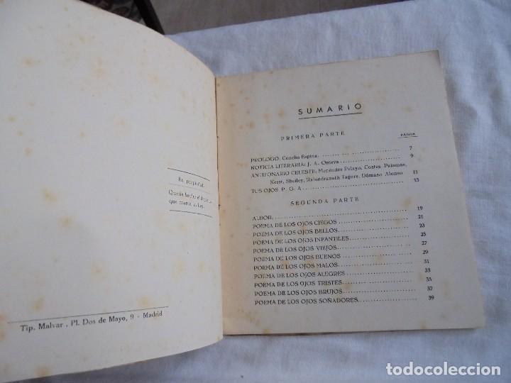 Libros de segunda mano: FIRMAMENTO HUMANO (POEMAS)PEDRO G.ARIAS.PROLOGO DE CONCHA ESPINA MADRID 1950.FIRMADO Y DEDICADO POR - Foto 4 - 121788627
