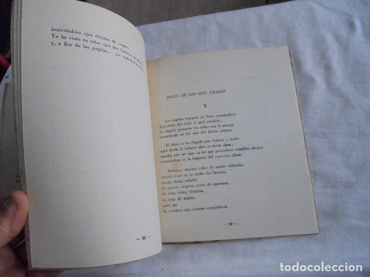 Libros de segunda mano: FIRMAMENTO HUMANO (POEMAS)PEDRO G.ARIAS.PROLOGO DE CONCHA ESPINA MADRID 1950.FIRMADO Y DEDICADO POR - Foto 5 - 121788627