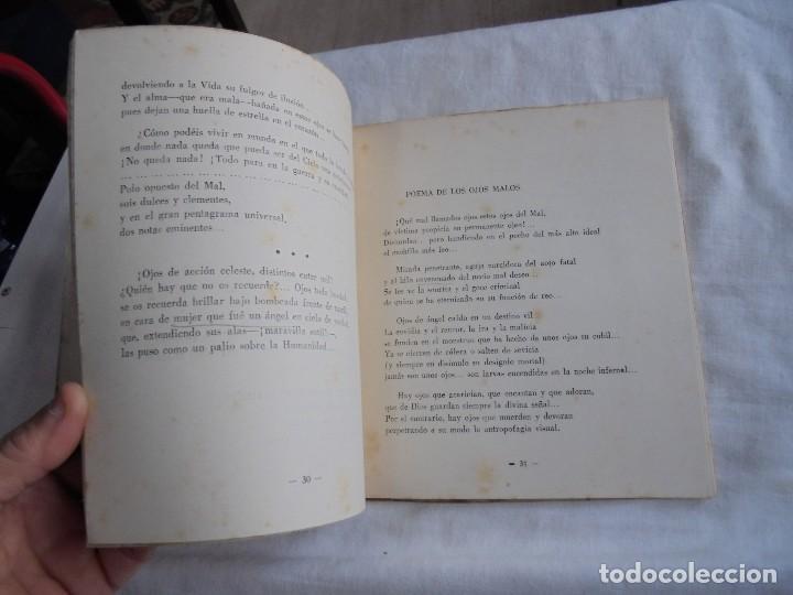 Libros de segunda mano: FIRMAMENTO HUMANO (POEMAS)PEDRO G.ARIAS.PROLOGO DE CONCHA ESPINA MADRID 1950.FIRMADO Y DEDICADO POR - Foto 6 - 121788627