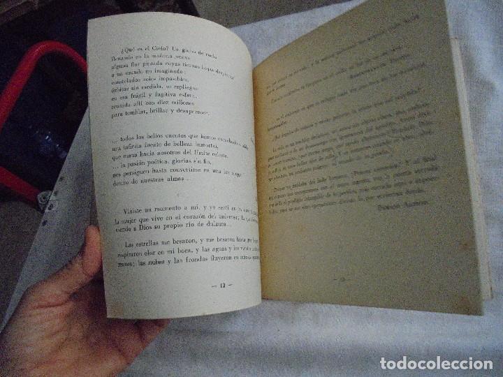 Libros de segunda mano: FIRMAMENTO HUMANO (POEMAS)PEDRO G.ARIAS.PROLOGO DE CONCHA ESPINA MADRID 1950.FIRMADO Y DEDICADO POR - Foto 7 - 121788627