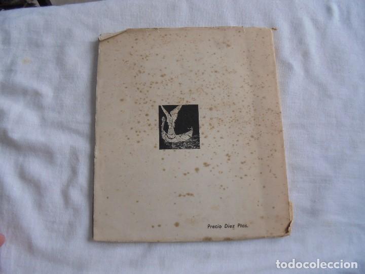 Libros de segunda mano: FIRMAMENTO HUMANO (POEMAS)PEDRO G.ARIAS.PROLOGO DE CONCHA ESPINA MADRID 1950.FIRMADO Y DEDICADO POR - Foto 9 - 121788627
