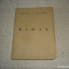 Libros de segunda mano: RIMAS: GUSTAVO ADOLFO BECQUER - COLECCION MAS ALLA, AFRODISIO AGUADO. Lote 121804631