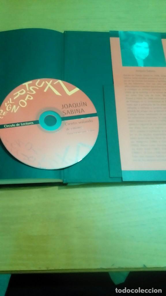 Libros de segunda mano: Joaquín Sabina Ciento volando de catorce libro cd - Foto 2 - 122236979