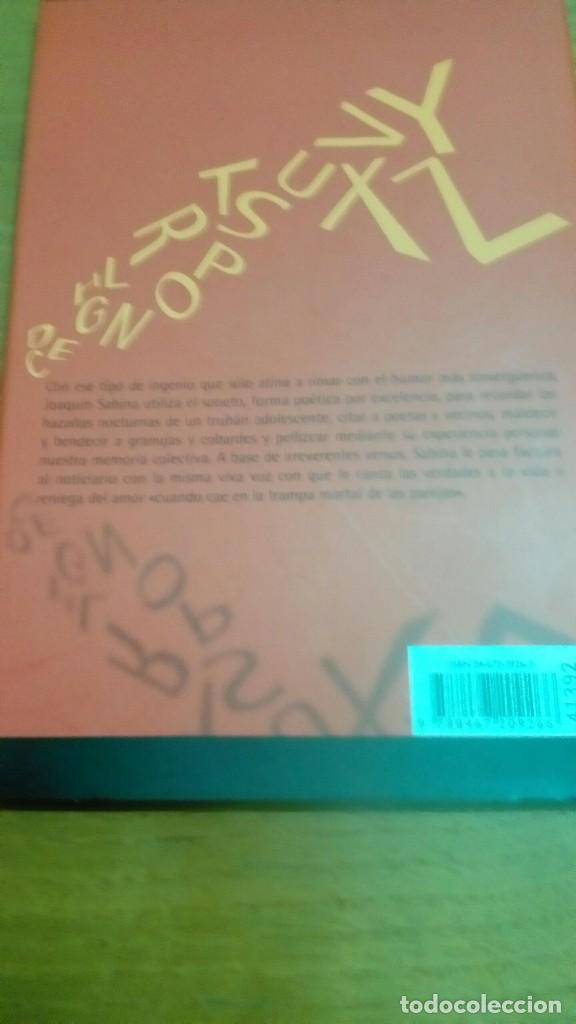 Libros de segunda mano: Joaquín Sabina Ciento volando de catorce libro cd - Foto 3 - 122236979