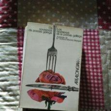 Libros de segunda mano: OS NOVISIMOS DA POESIA GALEGA.AKAL EDITOR 1973. Lote 124082894