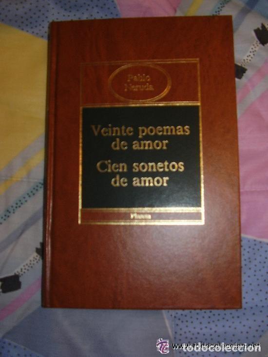 20 POEMAS DE AMOR Y CIEN SONETOS DE AMOR, PABLO NERUDA 20 POEMAS DE AMOR Y CIEN SONETOS DE AMOR, PA (Libros de Segunda Mano (posteriores a 1936) - Literatura - Poesía)
