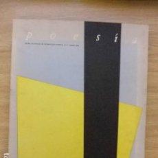 Libros de segunda mano: POESIA REVISTA ILUSTRADA DE INFORMACION POETICA N - 1 1978. ESTADO PERFECTO. Lote 124390639