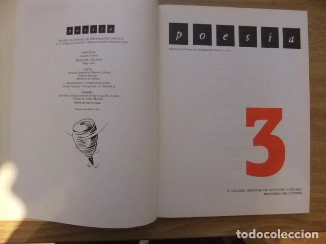 Libros de segunda mano: Poesia Revista Ilustrada de Informacion Poetica N - 3 1978. ESTADO PERFECTO - Foto 2 - 124390971