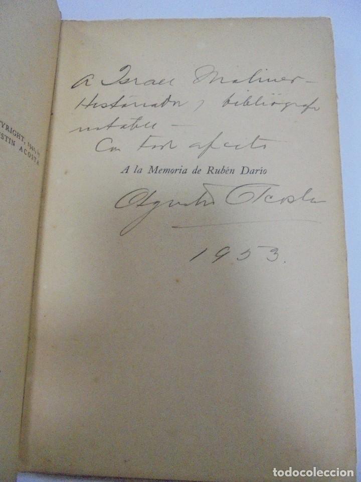 Libros de segunda mano: ULTIMOS INSTANTES. EDICION PRIVADA. AGUSTIN ACOSTA. LA VERONICA, 1941. CON DEDICATORIA. VER - Foto 3 - 125030743