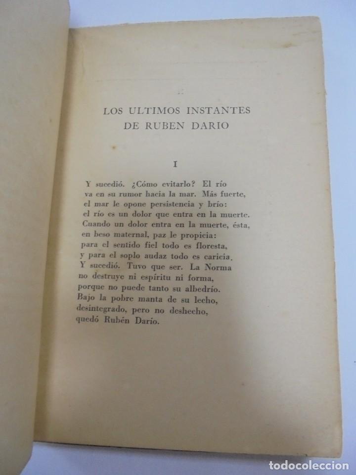 Libros de segunda mano: ULTIMOS INSTANTES. EDICION PRIVADA. AGUSTIN ACOSTA. LA VERONICA, 1941. CON DEDICATORIA. VER - Foto 4 - 125030743