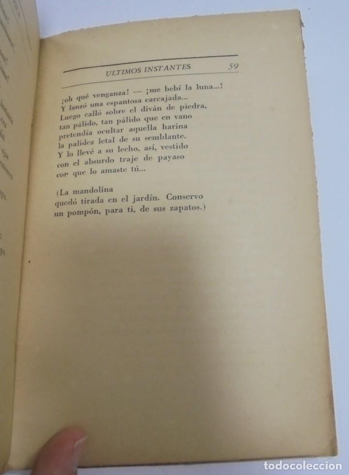 Libros de segunda mano: ULTIMOS INSTANTES. EDICION PRIVADA. AGUSTIN ACOSTA. LA VERONICA, 1941. CON DEDICATORIA. VER - Foto 6 - 125030743