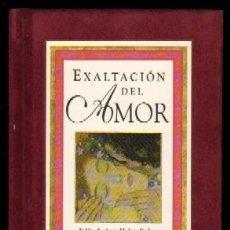 Libros de segunda mano: EXALTACIÓN DEL AMOR. POEMAS PO-522. Lote 125119027