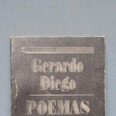 Libros de segunda mano: POEMAS MAYORES. GERARDO DIEGO. Lote 125146943