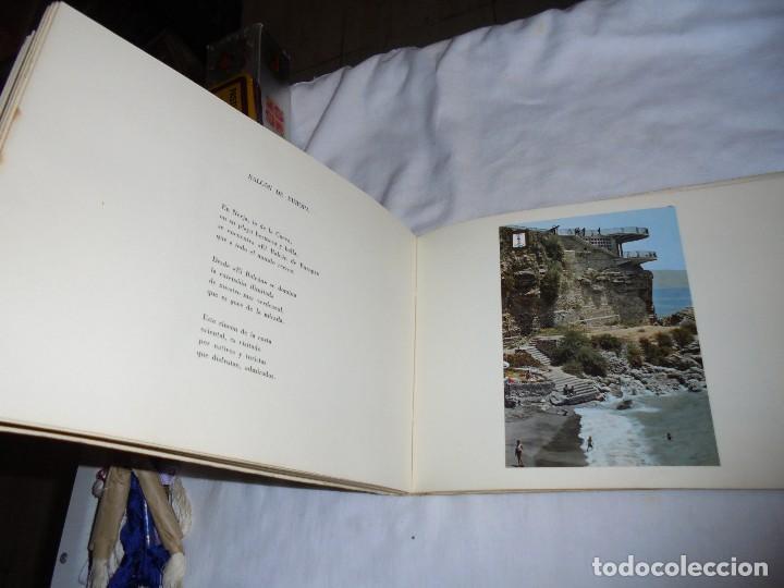 Libros de segunda mano: POSTALES MALAGUEÑAS.ALBUM CON POESIA.ORIGINAL DE JULIA ROMERO PORRAS.MALAGA 1970 - Foto 4 - 125450191