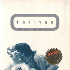 Libros de segunda mano: PEDRO SALINAS : DE AMOR. (SELECCIÓN DE ÁNGEL GARCÍA GALIANO. ED. MONDADORI, COL. MITOS POESÍA, 1998). Lote 125905771