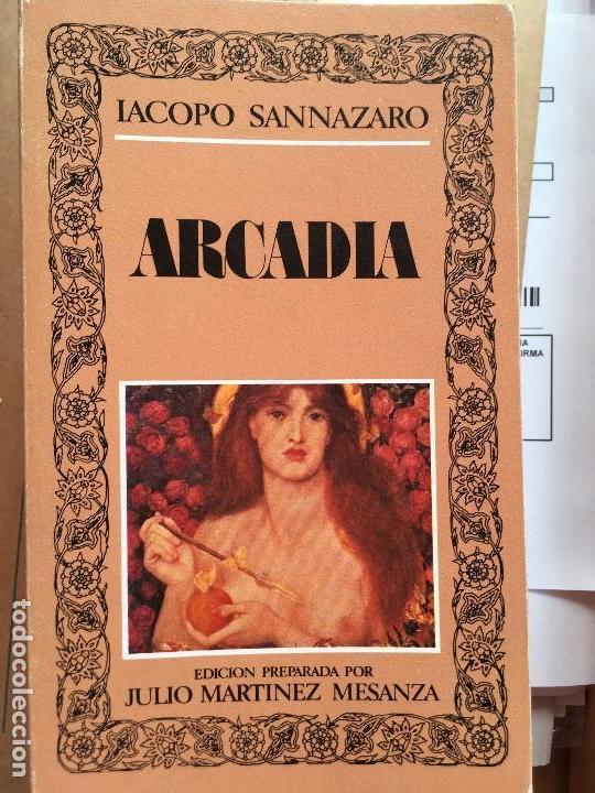 ARCADIA - SANNAZARO, IACOPO EDITORA NACIONAL 1982 (Libros de Segunda Mano (posteriores a 1936) - Literatura - Poesía)