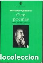 Cien poemas - fernando quiñones - hiperion - 1997 - Cádiz - Cien poemas - fernando quiñones - hiperion - 1997 - Cádiz