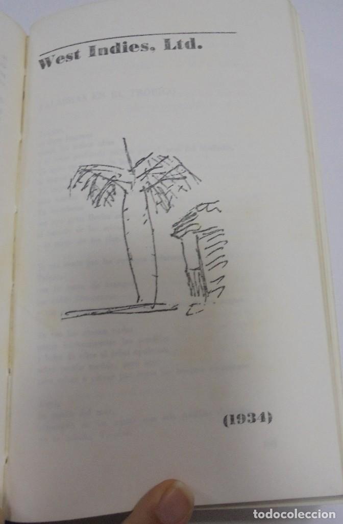 Libros de segunda mano: NICOLAS GUILLEN. OBRA POETICA. 1920 - 1958. DEDICATORIA. 2º EDICION. BOLSILIBROS UNION. 558 PAG. VER - Foto 8 - 126234451