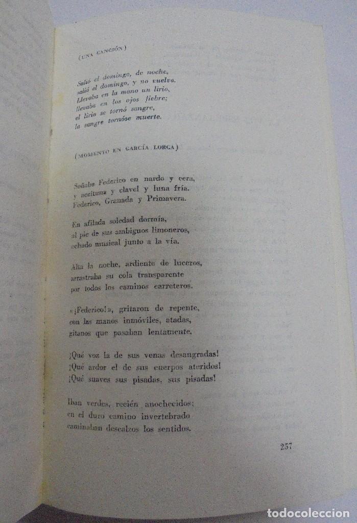 Libros de segunda mano: NICOLAS GUILLEN. OBRA POETICA. 1920 - 1958. DEDICATORIA. 2º EDICION. BOLSILIBROS UNION. 558 PAG. VER - Foto 9 - 126234451