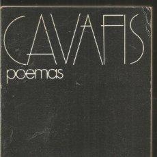 Libros de segunda mano: CAVAFIS. POEMAS. VISOR. Lote 126286295