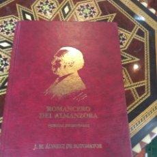 Libros de segunda mano: ALMERÍA ROMANCERO DEL ALMANZORA ÁLVAREZ DE SOTOMAYOR. Lote 127575243