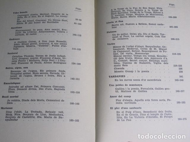 Libros de segunda mano: Poesies. Bartomeu Guasp Gelabert Prev., Ciutat de Mallorca, 1972 - Foto 4 - 127783039