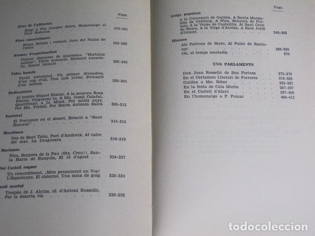 Libros de segunda mano: Poesies. Bartomeu Guasp Gelabert Prev., Ciutat de Mallorca, 1972 - Foto 5 - 127783039