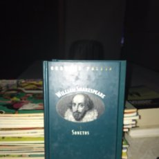 Libros de segunda mano: WILLIAM SHAKESPEARE SONETOS. Lote 127799762