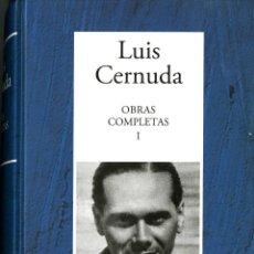 Libros de segunda mano: LUIS CERNUDA. POESÍA COMPLETA. Lote 128476851