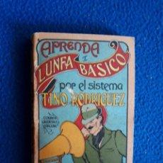 Libros de segunda mano: APRENDA LUNFA BÁSICO POR EL SISTEMA TINO RODRÍGUEZ (TORRES AGÜERO EDITOR, 1982). Lote 128670427