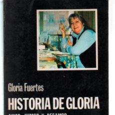 Libros de segunda mano: GLORIA FUERTES. HISTORIA DE GLORIA. EDICION PABLO GONZALEZ RODAS. CÁTEDRA. Lote 272569378