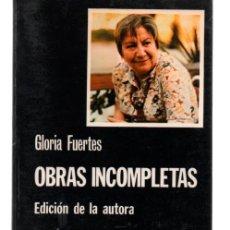 Libros de segunda mano: GLORIA FUERTES. OBRAS INCOMPLETAS. EDICION DE LA AUTORA. CATEDRA. Lote 272569393