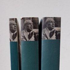 Libros de segunda mano: OBRA POÉTICA: ( 1, 2 Y 3 COMPLETA ) - JORGE LUIS BORGES - ALIANZA. Lote 128703894