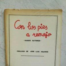Libros de segunda mano: CON LOS PIES A REMOJO CUADERNOS DEL MAR AÑOS 80 POEMAS. Lote 128932807