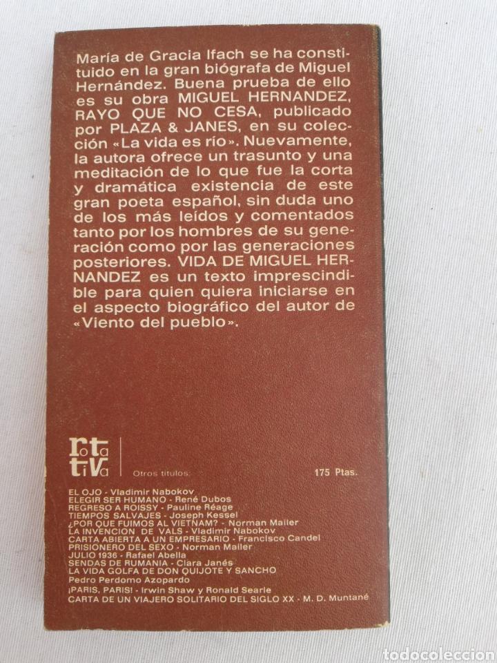 Libros de segunda mano: LOTE LIBROS MIGUEL HERNÁNDEZ. - Foto 4 - 129038535