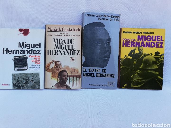 LOTE LIBROS MIGUEL HERNÁNDEZ. (Libros de Segunda Mano (posteriores a 1936) - Literatura - Poesía)