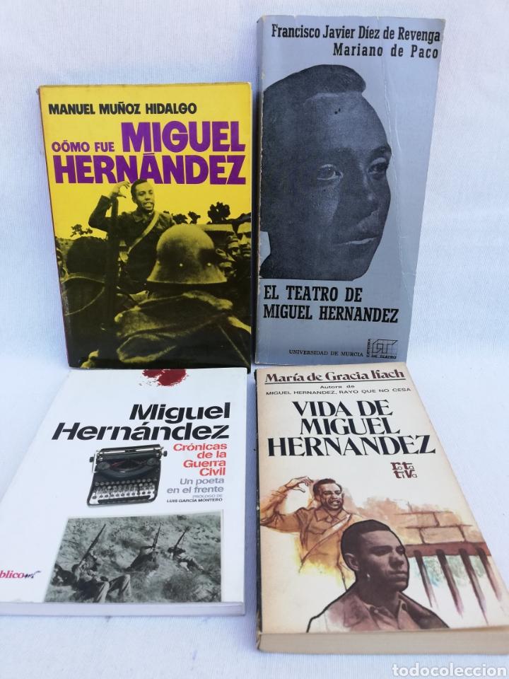 Libros de segunda mano: LOTE LIBROS MIGUEL HERNÁNDEZ. - Foto 2 - 129038535