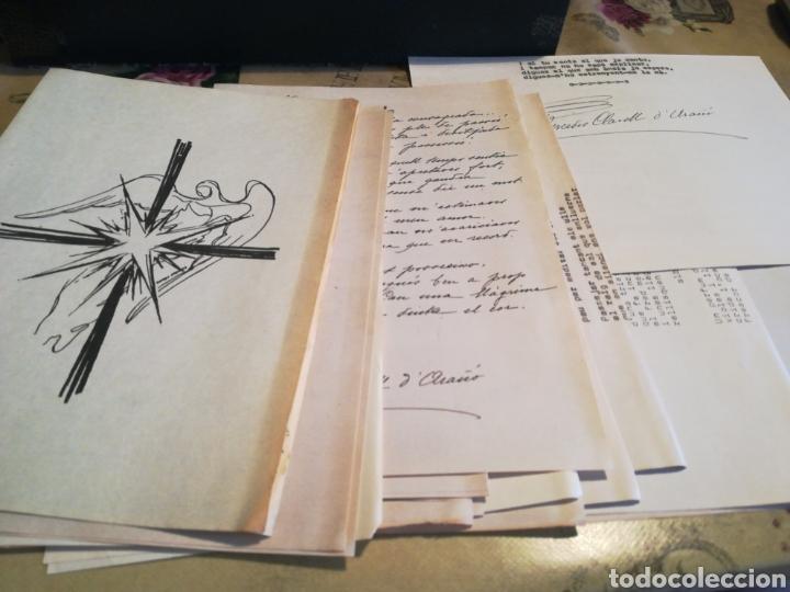 Libros de segunda mano: Pluja de sentiments - Mercè Clavell D'Arañó - 1974 - Dedicado por la autora - Foto 4 - 129251967