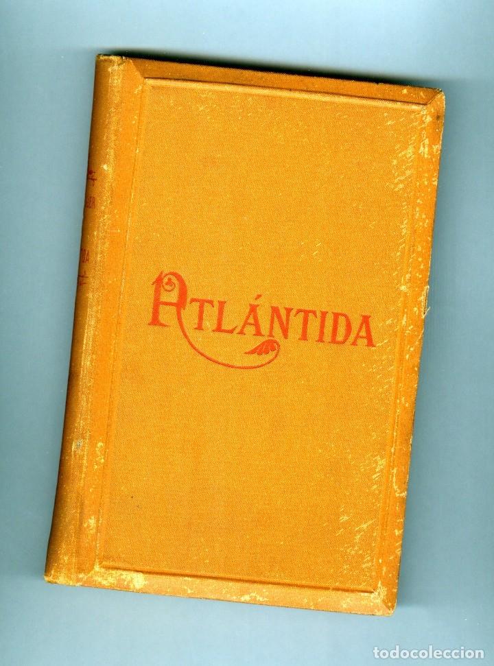 Libros de segunda mano: LA ATLANTIDA - 1886 - 1ª EDICIÓN EN CATALÁN Y CASTELLANO - Foto 3 - 41306944