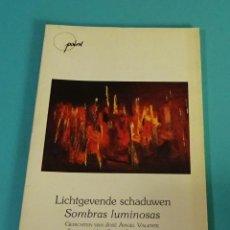 Libros de segunda mano: SOMBRAS LUMINOSAS. JOSÉ ÁNGEL VALENTE. Lote 130284314