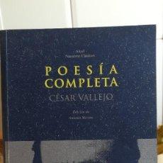 Libros de segunda mano: POESIA COMPLETA. - CÉSAR VALLEJO. AKAL, Nº 21. 1998.. Lote 130982744