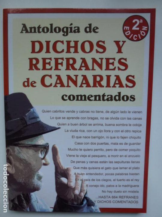 Antologia De Dichos Y Refranes De Canarias Come Kaufen Bucher Mit