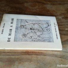 Libros de segunda mano: DE MAR A MAR (POEMAS) - ENCISO, MARÍA. Lote 131247924