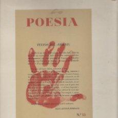 Libros de segunda mano: NUMULITE L0312 POESIA PRIMERA REVISTA CLANDESTINA IMPRESA EN CATALÀ 1944 1945 CATALANA. Lote 132934722